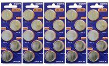 25 Super Fresh New Sony CR2450 ECR 2450 3v LITHIUM Coin Cell Battery Exp. 2027