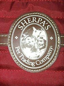 Sherpa Pet Trading Red Side Bag (from the Original Company)