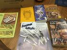 Case XX Knife Catalog And Paper Lot See Pictures, Carrill, Parker, Signed Trader