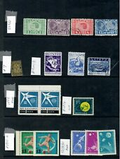 BULGARIA - MINT AND USED ( 2 SCANS ) SELECTION OF SETS & SINGLES - SOME BETTER