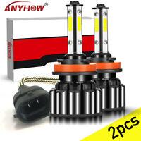 H11 LED Headlight Kit Low Beam Bulb Super Bright 6000K 45Days Free Return