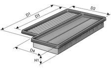 PURFLUX Filtro de aire para ABARTH 500 500C A1459