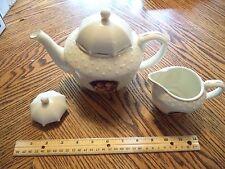 "M I Hummel Tea Pot & Creamer Danbury Mint ""Stormy Weather"""