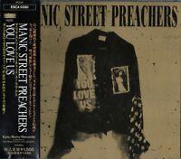 "Manic Street Preachers - You Love Us"" Single Japan CD OBI_ESCA-5580"