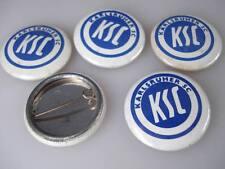 5 x KSC Karlsruhe Blech Buttons aus 1980 Karlsruher SC