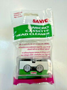 Sanyo Micro Cassette Head Cleaner tape
