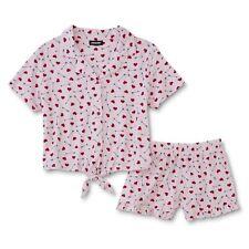 Joe Boxer Women's Pajama Top & Shorts - Hearts SZ. LARGE  NWT
