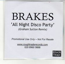 (EN287) Brakes,  All Night Disco Party - DJ CD