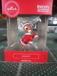 HALLMARK ORNAMENT RUDOLPH RED-NOSED REINDEER **** MUST SEE ****