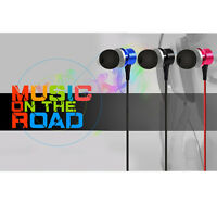 For Tablet MP3 Fasion 3.5mm Super Bass Stereo In-Ear Earphone Headphone Headset