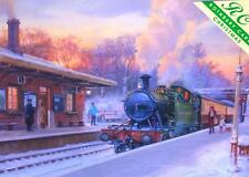 Christmas Cards - Christmas Bishops Lydeard West Somerset Railway GWR 45xx Tank