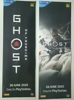 Ghost of Tsushima PS4 - Set of Two Game Promotional Double Sided Poster 100CM