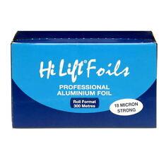 Hi Lift Aluminium Hair Colouring Foil 300 Metres 18 Micron Silver Dye Tint Salon
