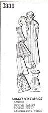 1339 Vintage Doll Clothing Pattern fits Barbie 11.5 in. Mail Order Newspaper
