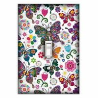 Kalei Butterfly Decorative Single Toggle Light Switch Plate Cover