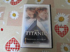 Titanic 1997 VHS Videokassette gebraucht im guten Zustand