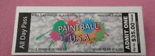 Paintball all day ticket