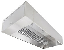 7ft Nd2 Series Stainless Steel Type I Etl Listed Grease Hood