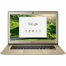 Acer Chromebook 14 Inch Intel Celeron 1.6GHz 2GB 32GB Laptop - Gold