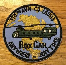 ORIGINAL VIETNAM WAR EMBROIDERED 178th AVIATION COMPANY POCKET PATCH