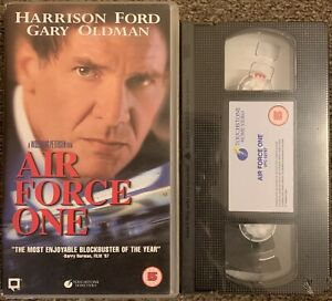 AIR FORCE ONE :HARRISON FORD-VHS VIDEO SMALL BOX (NEW/SEALED)