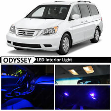 15x Blue Interior LED Light Package Kit for 2005-2010 Honda Odyssey