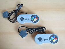 2 Controller für Super Nintendo - SNES Joypad Gamepad NEU