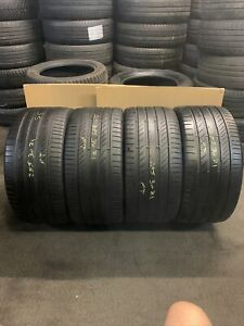 285 30 ZR 21 100Y XL Continental ContisportContact 5p 4x Tyres Full Set