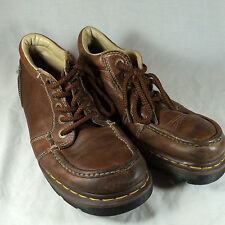 Dr. Doc Martens  $120 Kyle 11525 Brown Leather Ankle Boots Mens US size 10 hipst