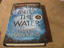 INTO THE WATER UK BY PAULA HAWKINS SIGNED ON TITLE PAGE NEW TRUE 1 PRINTING
