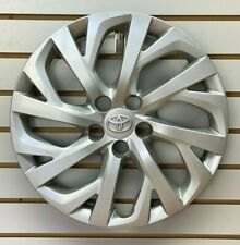 2017 2018 2019 Toyota Corolla 16 Silver Hubcap Wheelcover Factory Original Fits Toyota