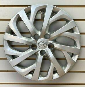 """2017 2018 TOYOTA COROLLA 16"""" SILVER Hubcap Wheelcover Factory Original"""