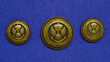 JOS. A. BANK Dark Bronze Eagle Logo blazer buttons set of 3, good used condition