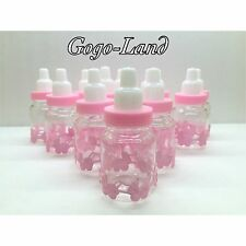 36 Fillable Bottles For Baby Shower Favors Pink Party Decorations,Girl