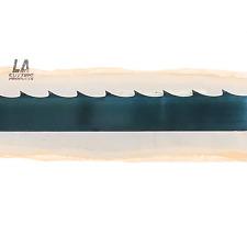 170 14 2 X 125 X 042 X 78 Gt Carbon Steel Wood Mill Band Saw Blade X10