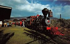 Hawaii postcard Maui Lanaina-Kaanapali & Pacific Railroad train