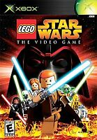 LEGO Star Wars: The Video Game (Microsoft Xbox, 2005) Video Game w/ Booklet