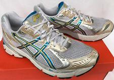 ASICS GEL-1160 White T0J8N DUOMAX Gold 5K 10K Marathon Running Shoes Women's 10