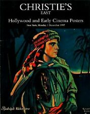 Christie's East Hollywood & Early Cinema Posters Auction Catalog 1997