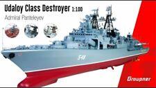 21027 Graupner grande échelle 1:100 RC Model Boat Udaloy Class Destroyer PANTELEYEV