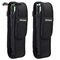 2X XTAR T220 Belt Flashlight Pouch Torch Holster for Surefire G2 6P E2L UltraFir