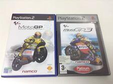 PACK. LOTE 2 JUEGOS MOTOGP2 + MOTPGP3 . Pal España