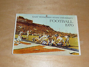 1970 EAST TENNESSEE STATE COLLEGE FOOTBALL MEDIA GUIDE  EX-MINT BOX 9