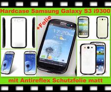 Silikon Schutz Hülle Case Cover Samsung Galaxy S3 SIII i9300 Tasche Bumper Folie