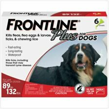 BrandNew FRONTLINE Plus Flea & Tick Treatment for Extra Large Dogs - 6 Doses