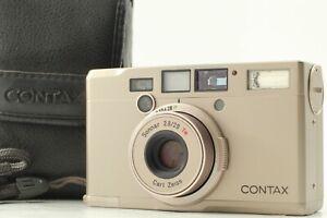 [MINT w/ Case] Contax Tix Carl Zeiss 28mm f2.8 Point&Shoot APS Film Camera JAPAN