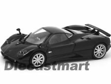 Véhicules miniatures noirs Pagani 1:24