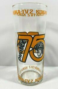 New Mint 1975 PITTSBURGH PIRATES KDKA-TV2 DRINKING GLASS
