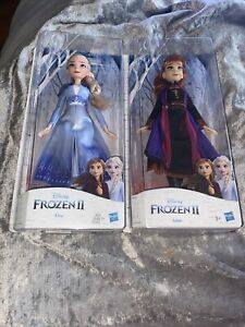 Disney FROZEN 2 ELSA Fashion Dolls X 2 Elsa & Anna Girl Present Gift - New