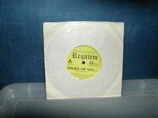 "Requiem-Angel of sin 7""  1980 NWOBHM"